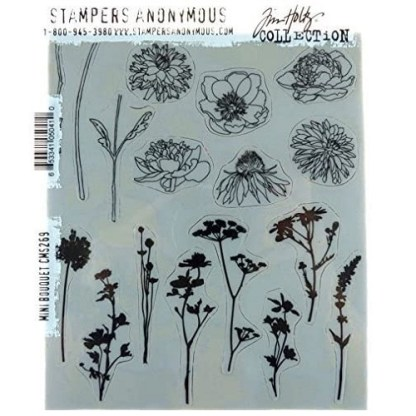 Stampers Anonymous Tim Holtz Mini Bouquet