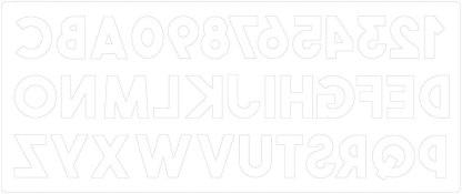Troquel Sizzix Bigz XL, Alfabeth by Em