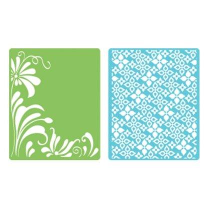 Embossing Folders Flowers & Flourish Set