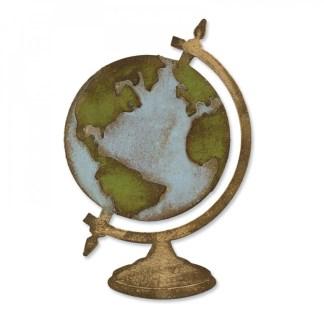 Bigz Vintage Globe, Sizzix