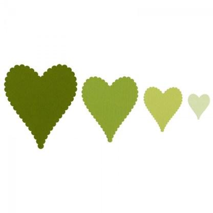 Framelits Hearts Scallop N° 2, Sizzix