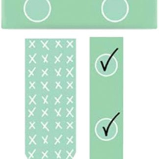 WASHI TAPE REMINDER – 2 piece – MINT