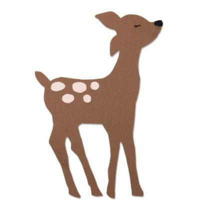 Troquel Sizzix Bigz Retro Deer