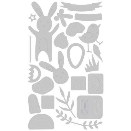 Sizzix Thinlits Die Set 23PK - Celebración de Pascua