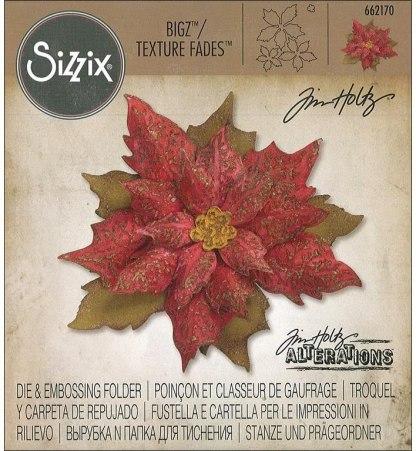 Troquel BigZ Poinsettia by Tim Holtz, Sizzix