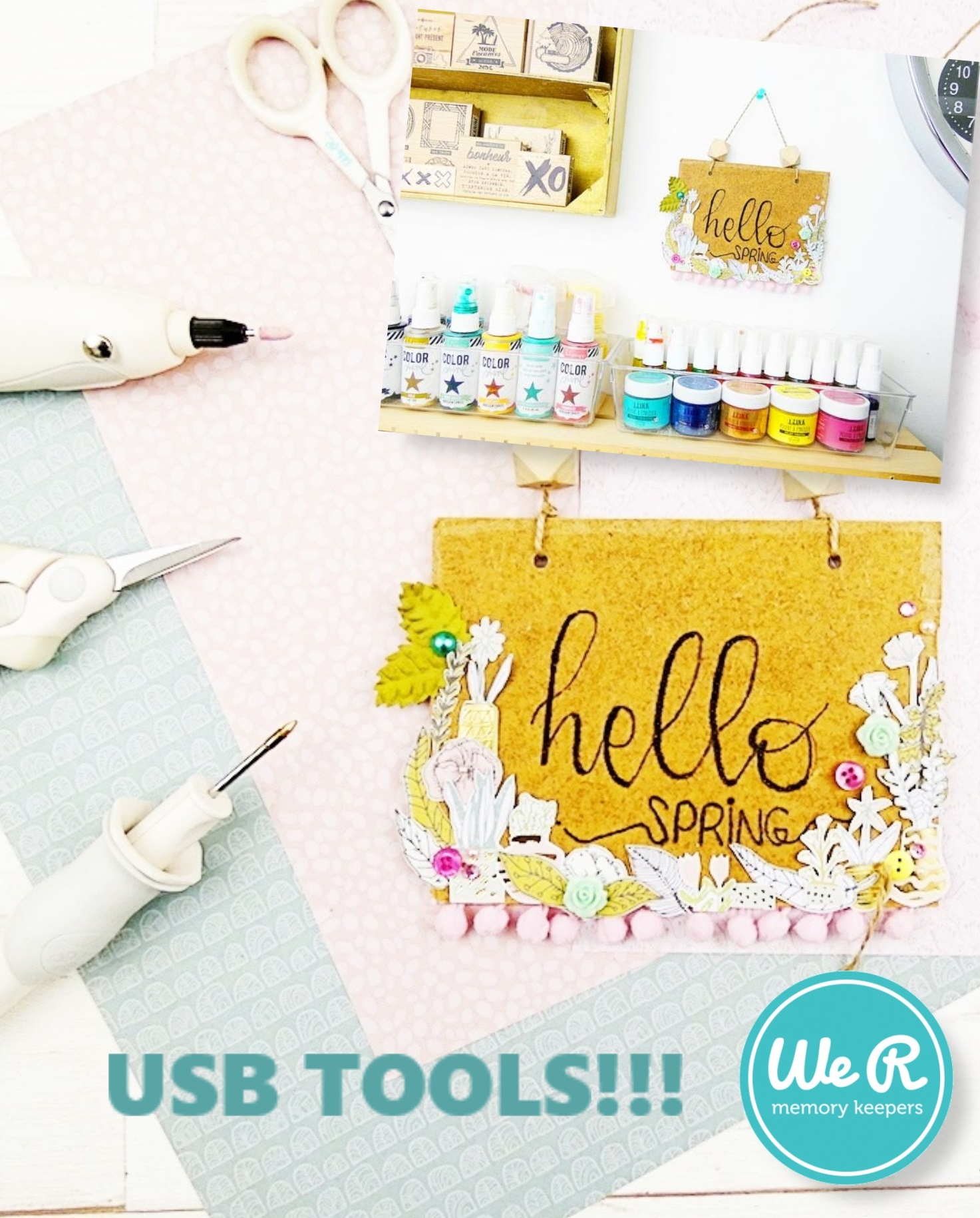 USB Tools We R Memory Keepers