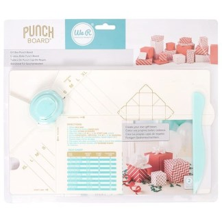 Punch Board Gift Box, We R Memories