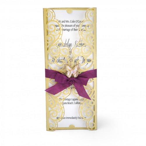 Thinlits Die Set Invitation Wrapper