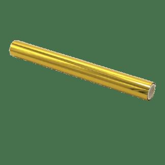 Rollo Foil Lámina Reactiva Dorado