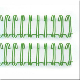 Set de Espirales Color Verde