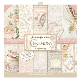 Ceremony Paper Pad Stamperia