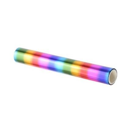 Rollo Foil Lámina Reactiva Arcoiris