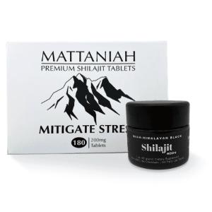 Mitigate Stress Shilajit Tablets and Shilajit Resin