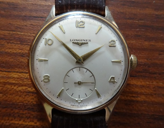 9 ct Gold Longines