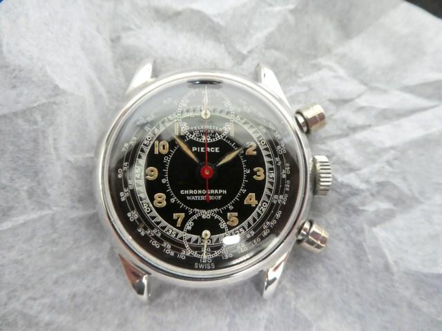 Pierce chronograph calibre 134