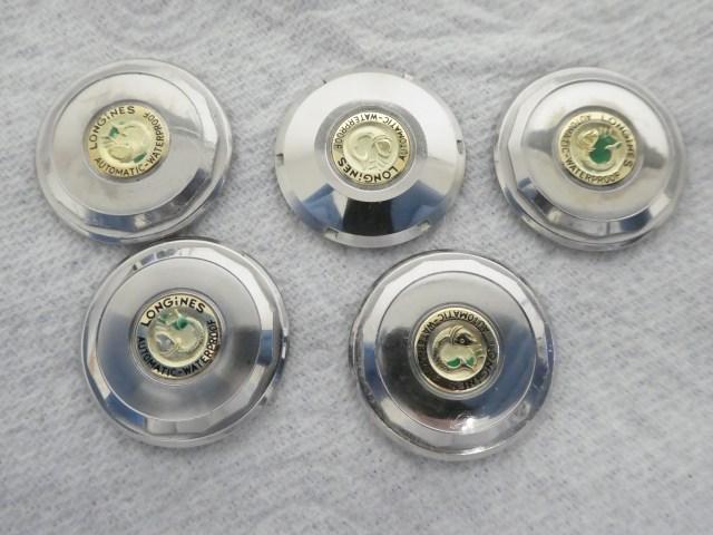 Longines case back repair