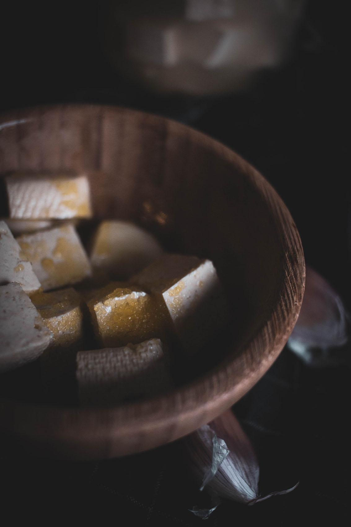 feta z tofu wegańska feta