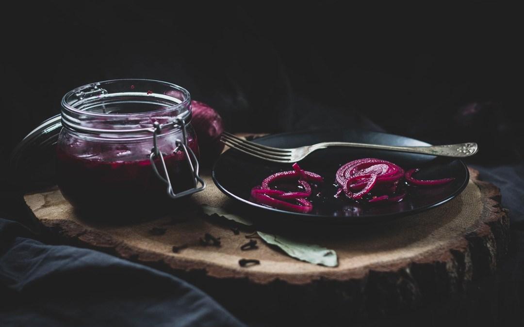 Piklowana (marynowana) cebula
