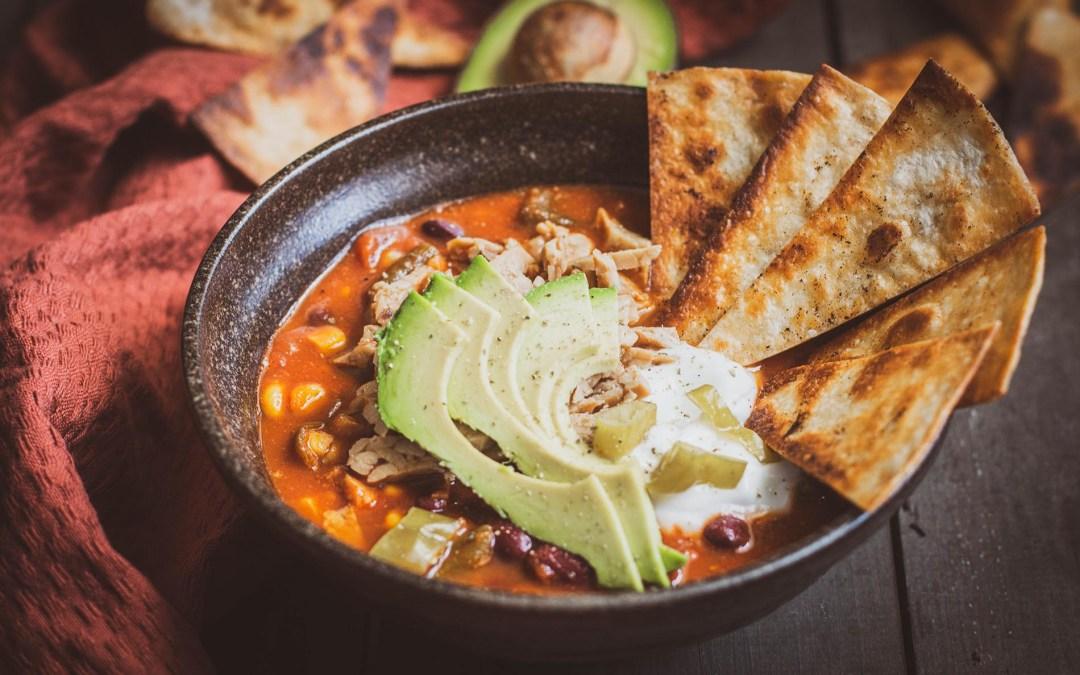 Zupa meksykańska – wege