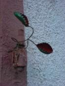 Fleischfressende Pflanze aus Kronkorken eins