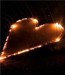 Das flammende Herz. Bild: Nicolas Ehrat