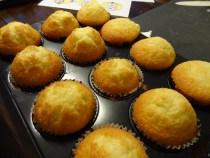 Die Muffins sind fertig!