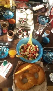 Bestes Neujahrsfrühstück bei Freunden! :)