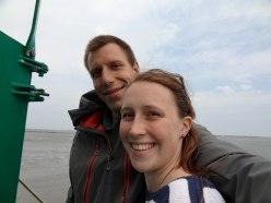 """Selfie """"im Meer""""."""
