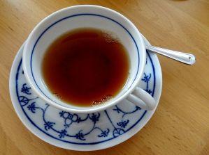 Eine kleine Teezeremonie am Mittag war eine schöne Tradition.
