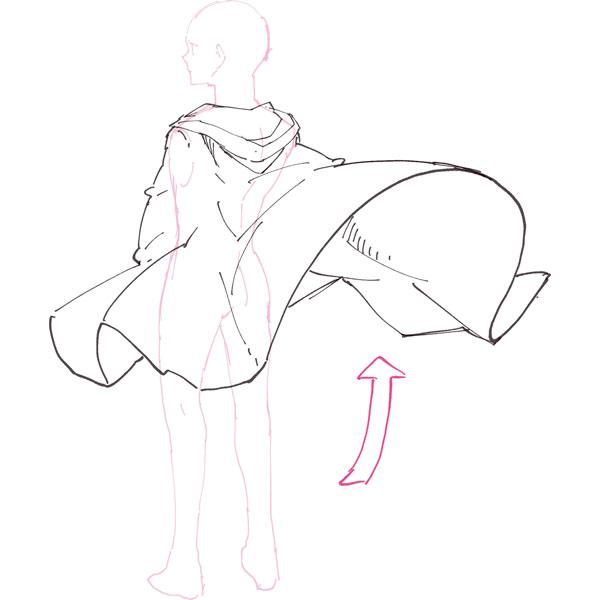 プロのファンタジー絵師はマントをこう描き分ける Mitokミトク