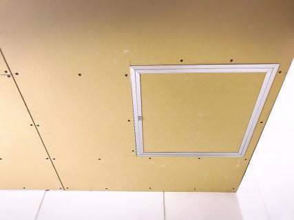 リフォームで天井の壁紙交換!