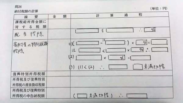 巡回監査士試験30所得税_問題4