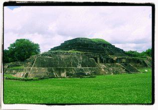 Las ruinas de el Tazumal