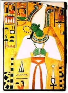 Mito del nacimiento de Osiris