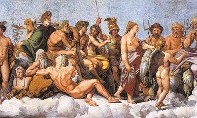 Mitología de los griegos