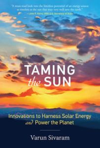 Launch: Varun Sivaram, Taming the Sun @ MIT Energy Conference @ Boston Marriott Cambridge | Cambridge | Massachusetts | United States