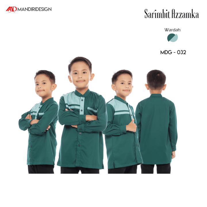 Baju Koko Anak Sarimbit Azzamka Wardah MDG-032