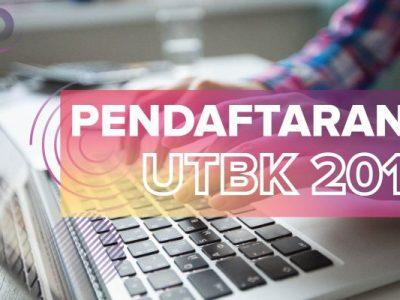 Pendaftaran UTBK 2019-01