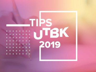 TIPS UTBK 2019-01