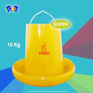 Tempat Pakan Ayam 10 kg grade Super - punos
