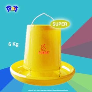 Tempat Pakan Ayam 6 kg grade Super - punos
