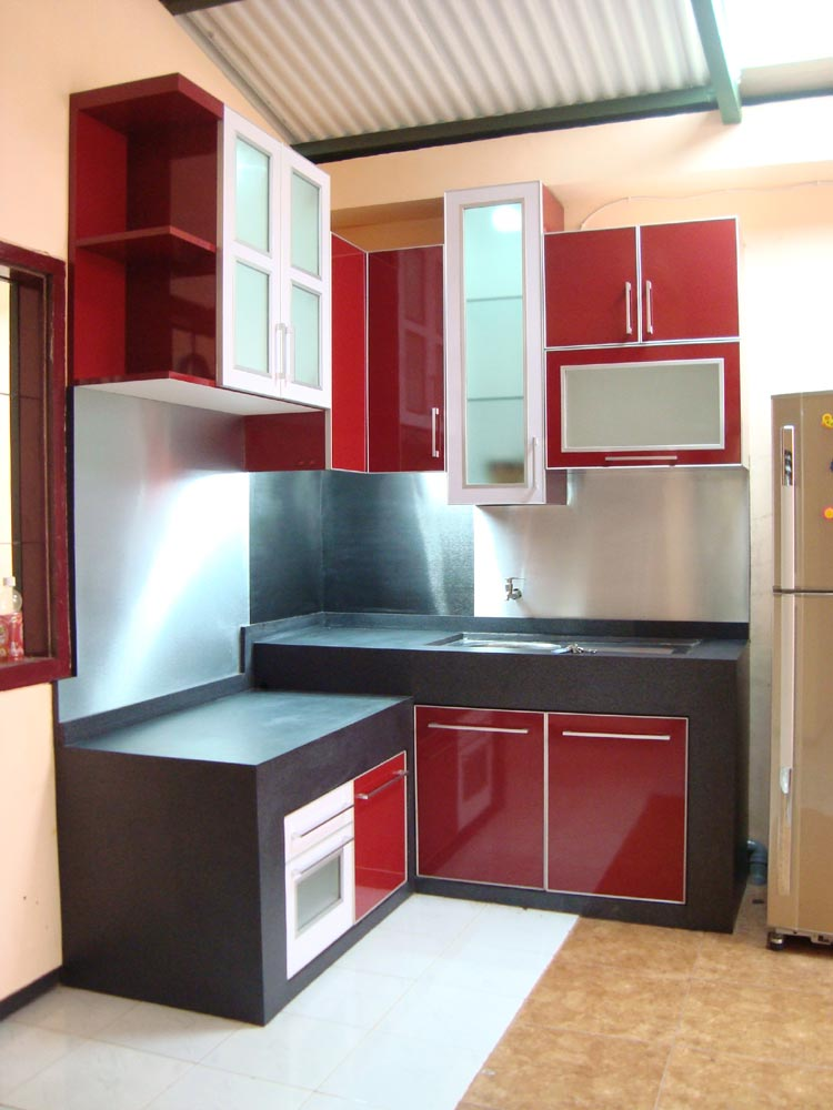 Kitchen Set Minimalis Mitra Santosa