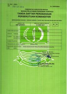 About Us Profile Mitra Setia Group - Dokumen Legalitas CV Mitra Setia Jaya Cikarang - TDP