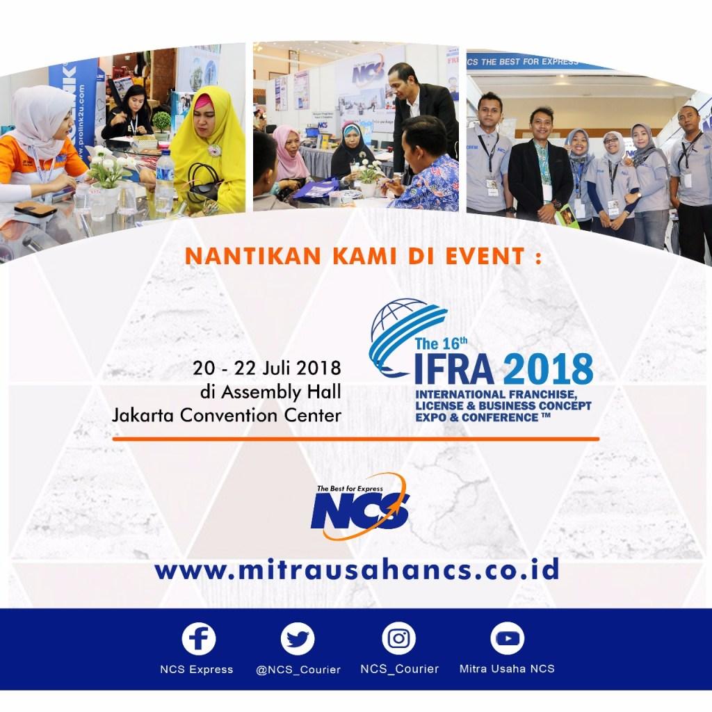 NCS HADIR KEMBALI PADA EVENT IFRA 2018
