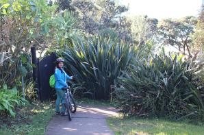 Akshita with her bike