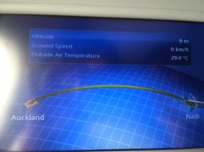 Flight Path -- Auckland to Nadi