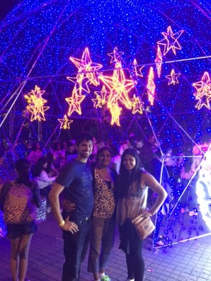 Christmas Lights at Parque Norte