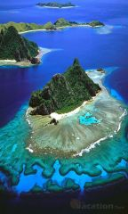 Aerial View of Mamanuca Islands (courtesy of Google)