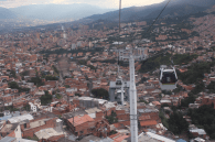 View of Medellin from the cable car - 2