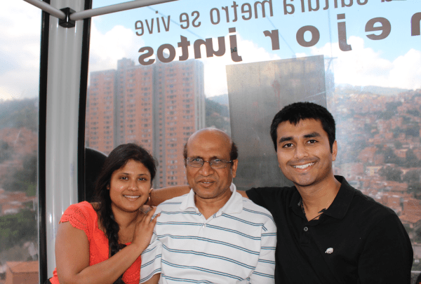 In the cable car - 2